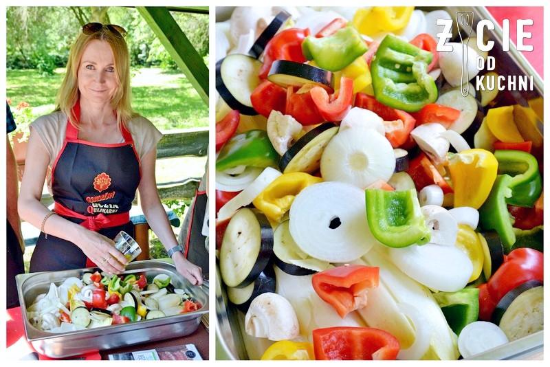 grillowane warzywa, grill, sokolow, akademia smaku, uczta qulinarna, garden party, zycie od kuchni