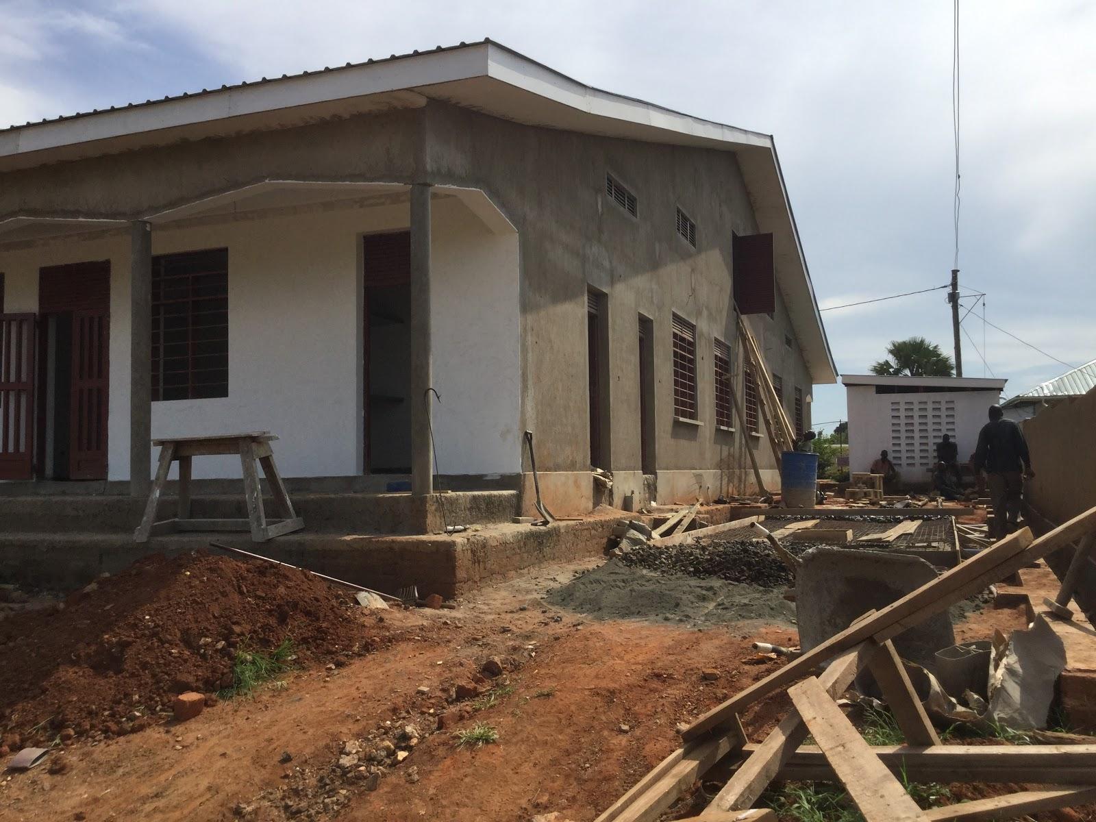 Yotkom Uganda: Maternal and Child Health construction update