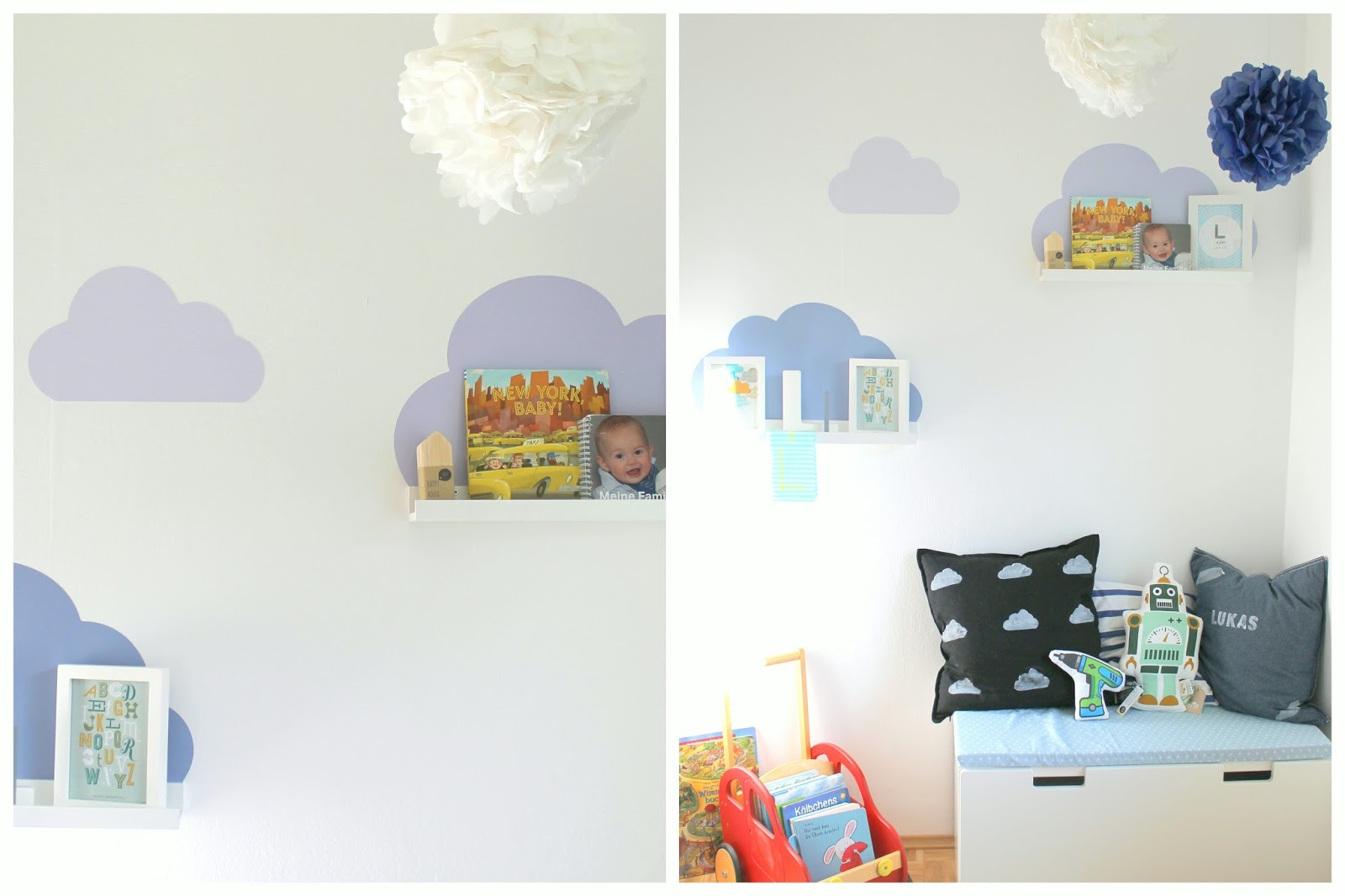 kleines freudenhaus erster einblick ins neue zimmer des neuen. Black Bedroom Furniture Sets. Home Design Ideas