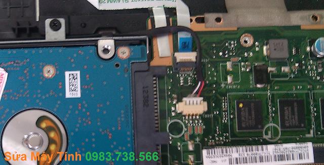 Sửa laptop bật không lên
