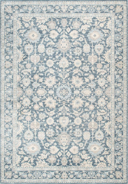 I love farmhouse style, the color blue, and cushy rugs! Here are ten of my favorite blue rugs. All of them perfect for creating that farmhouse style! floral