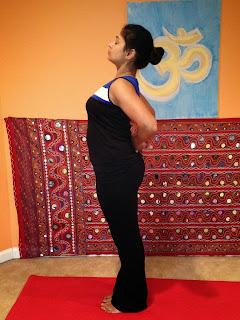 kimaya of yoga yoga and posture  modified back bend