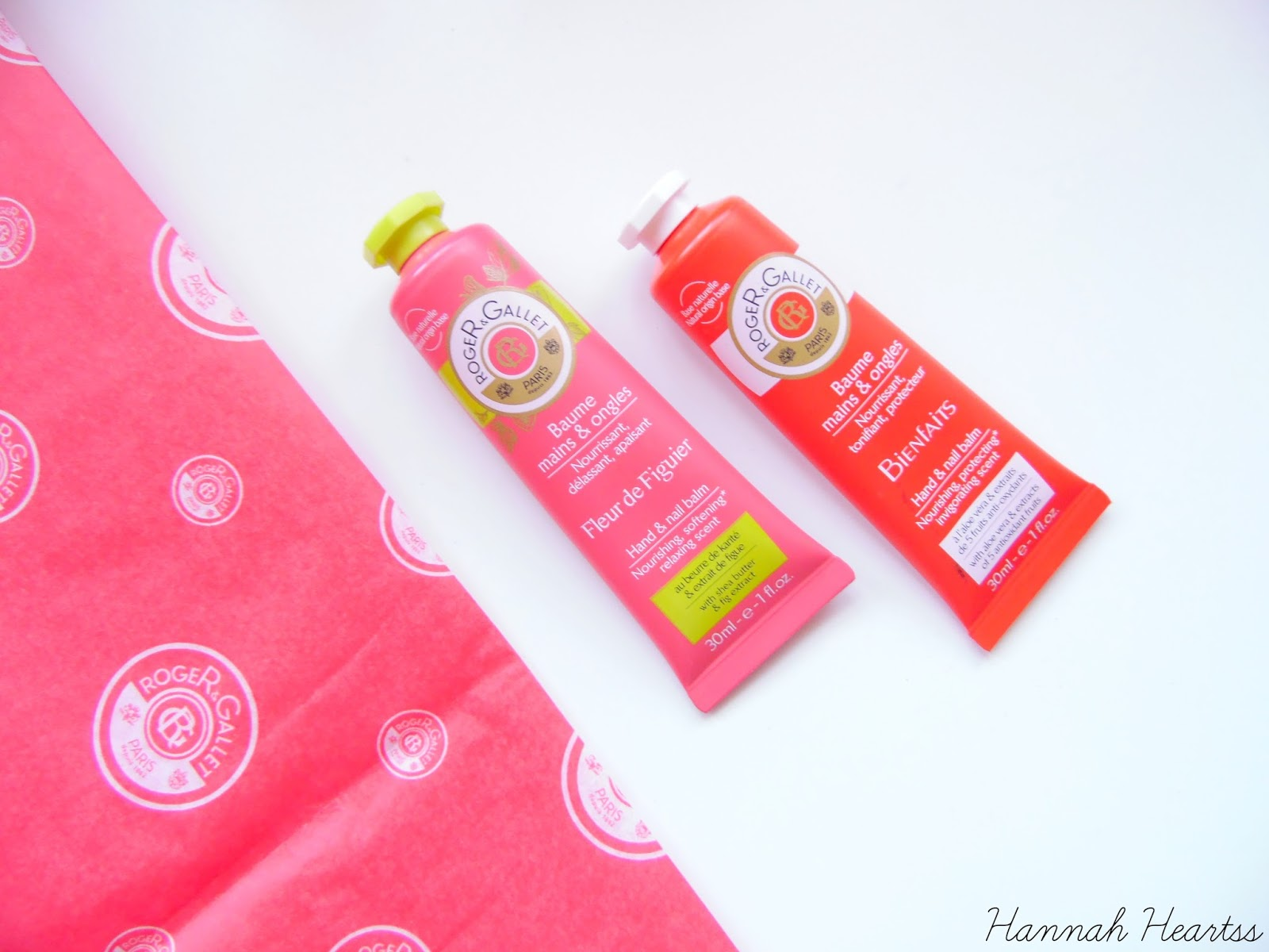 Roger and Gallet Hand Balms Review