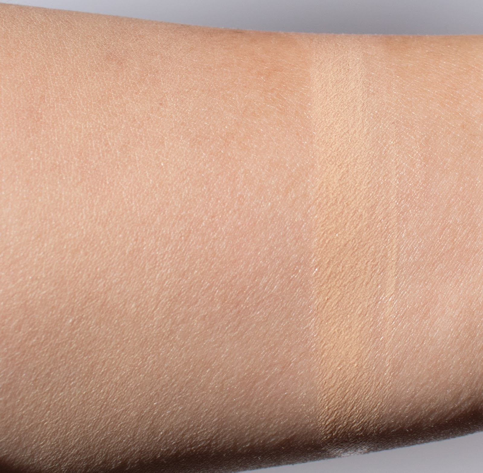 Glossier Perfecting Skin Tint in Medium Swatches
