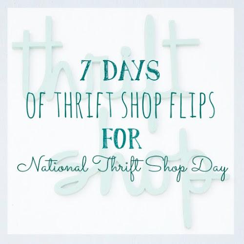 7 Days of Thrift Shop Flips for National Thrift Shop Day - Day 7 - Vintage Salt Shaker