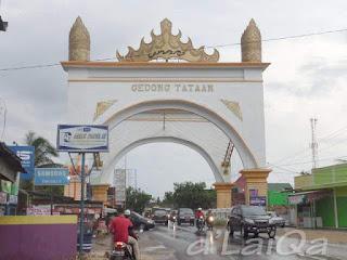 Gedong Tataan, ibu kota Kabupaten Pesawaran