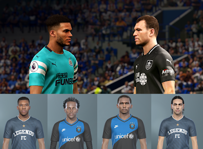 PES 2019 Fixes for the PTE Patch 2019 Update 4.1 by Cesc & Hawke