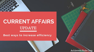 Current Affairs Updates - 13th March 2018