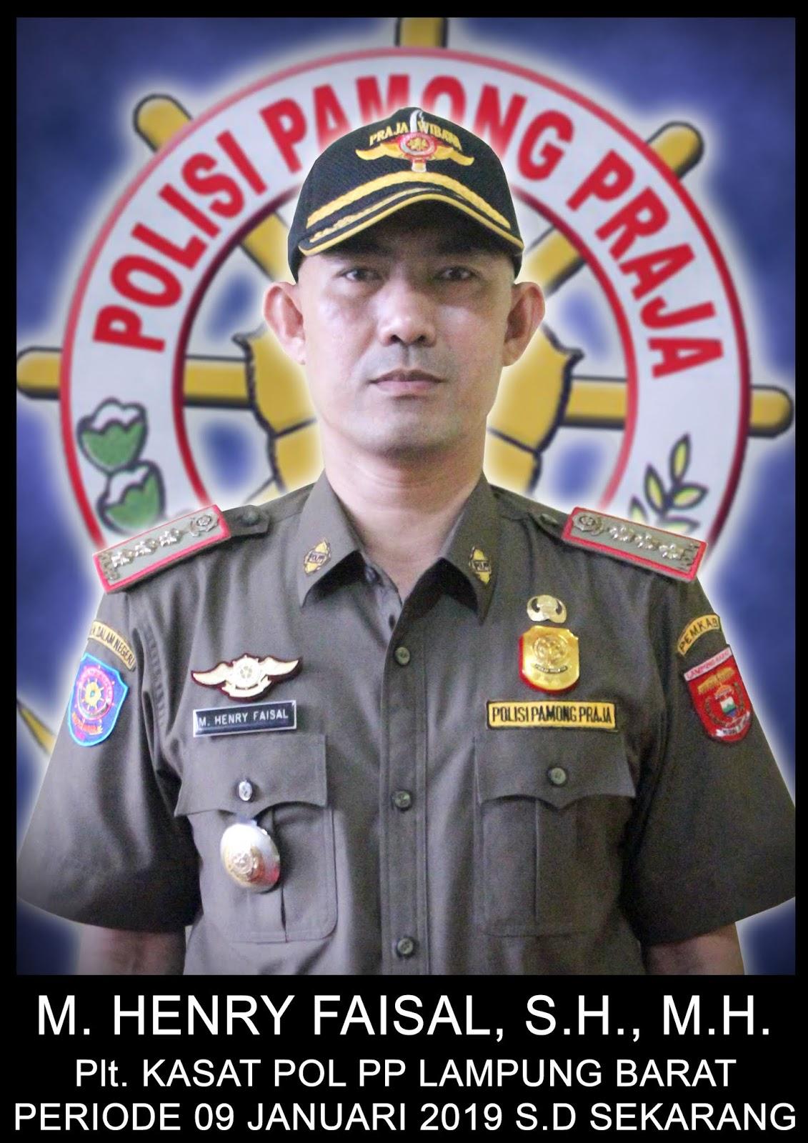 Kasat Pol PP Lampung Barat