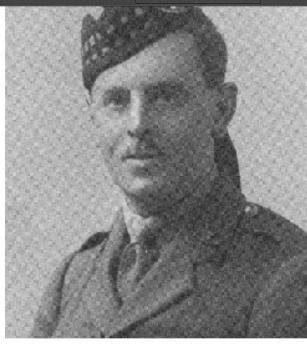 Major Charles Edward Fysh