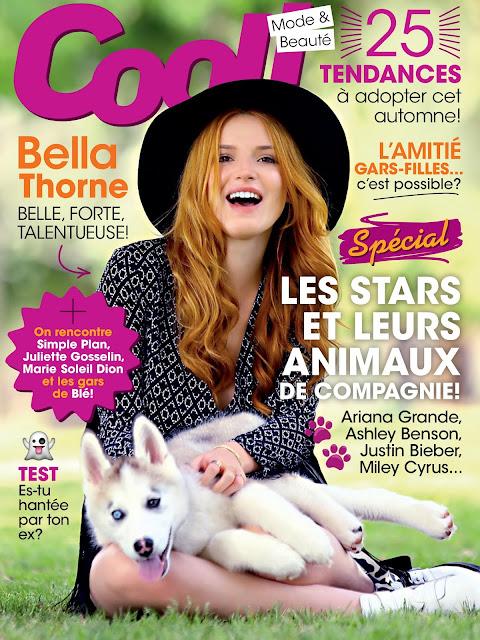 Actress, Singer, Model, @ Bella Thorne - Cool Magazine France, October 2016