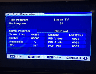 Cara Mencari Chanel Net TV Yang Hilang