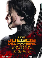 Los Juegos del Hambre  La saga completa DVD