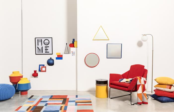 Collezione estate 2019 Coincasa ispirata al Bauhaus