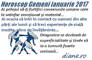 Horoscop ianuarie 2017 Gemeni