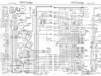 1972 Dodge Dart Wiring Diagrams