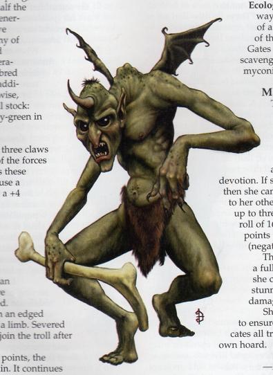 The Furthest Lands: Mutant Trolls: d100 Mutations