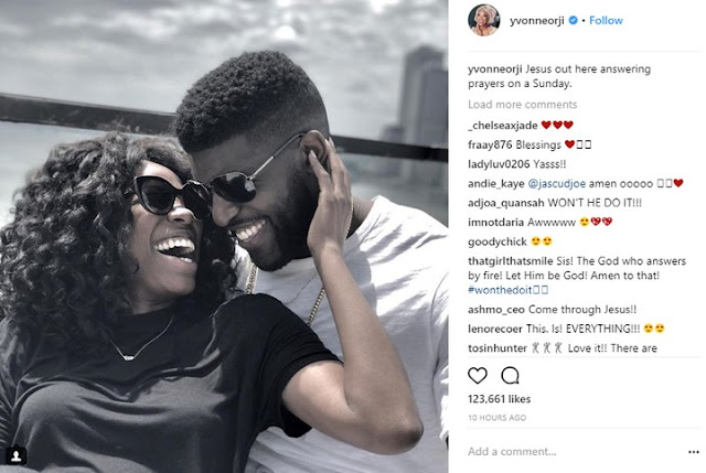 Yvonne Orji Finds Love twitter