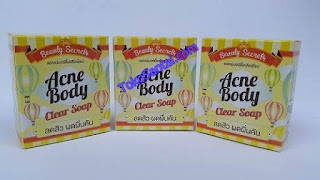 Acne Body Clear Soap Murah