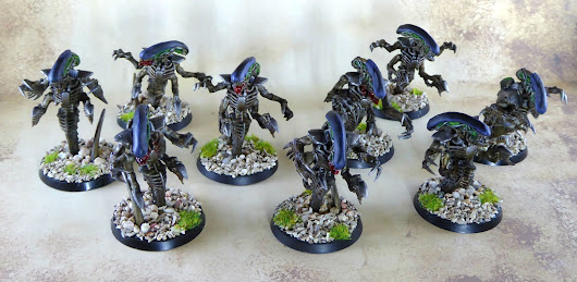 Tyranids: Aliens-Themed Ravenors TO-DONE!