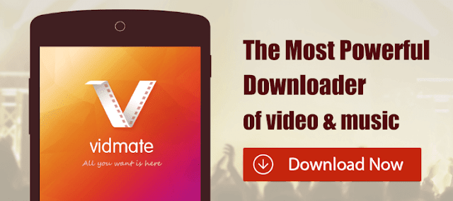 Vidmate untuk download video youtube ke hp android