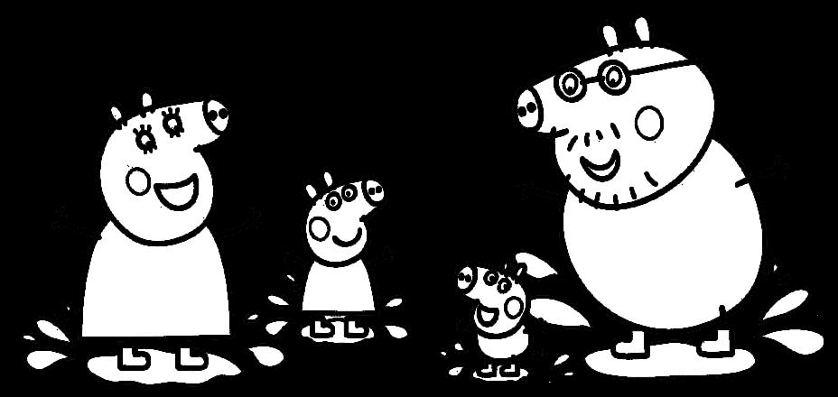 Oliveira Fashionando: Peppa Pig Para Colorir