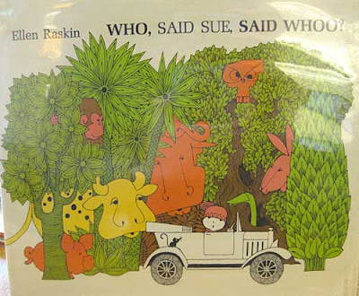 Cover of Who, Said Sue, Said Whoo?