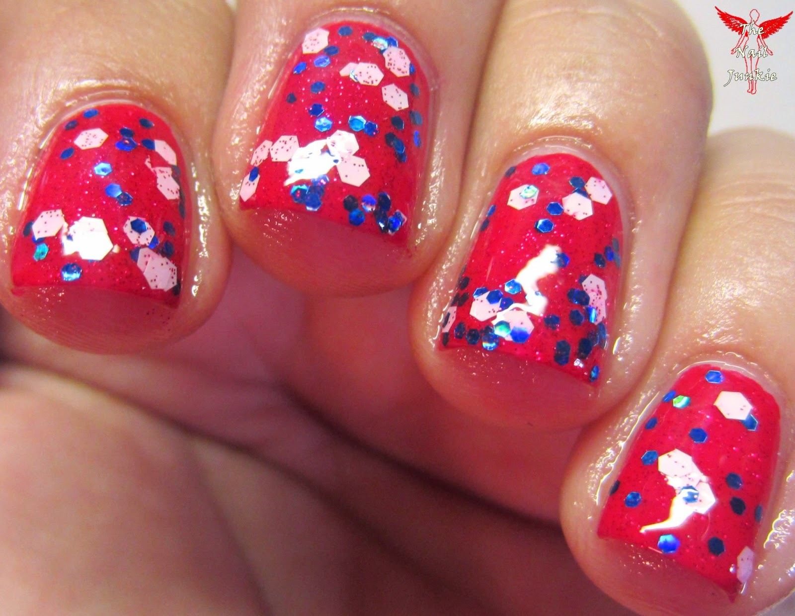 The Nail Junkie Official Release And Giveaway Special Edition Quot American Flag Quot Nail Polish