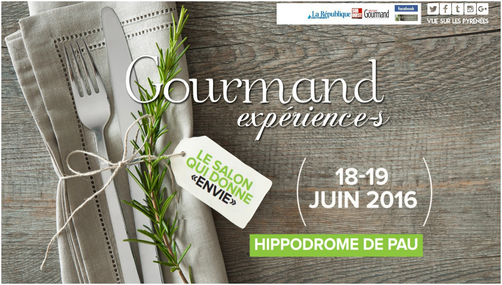 Salon gourmand exp riences pau 2017 for Hippodrome de salon