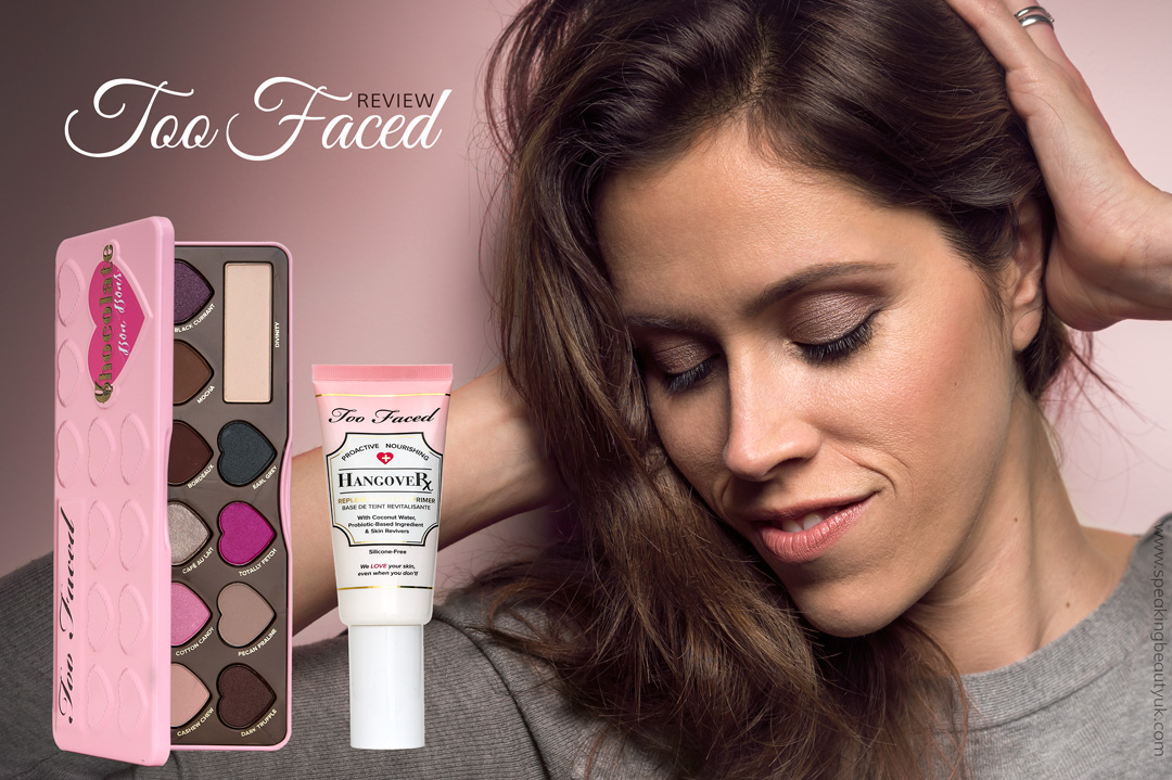 Too Faced Chocolate Bon Bons Palette and Hangover Face Primer