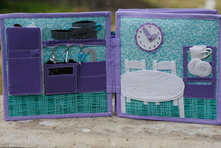 Dollhouse for Abigail Handmade by Ola Loginova TomToy quiet book