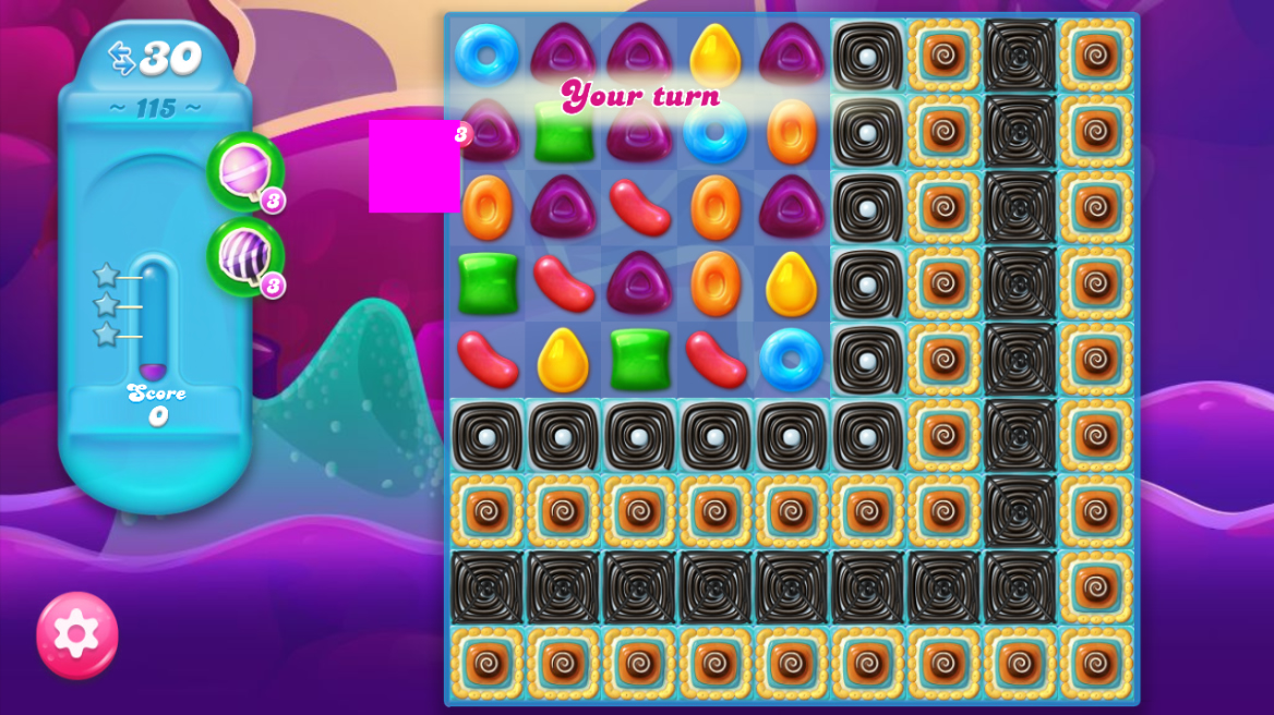 Candy Crush Jelly Saga saga 115