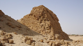 The worst pyramids in Sudan are in Nuri