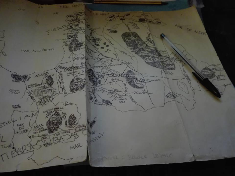Mapa del continente de Aru, de Sergio R. Alarte - Cine de Escritor