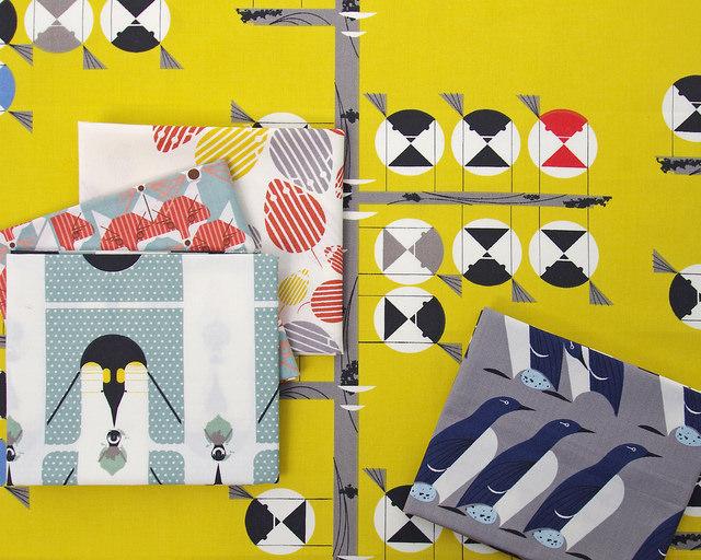 Nurture by Charley Harper for Birch Fabrics