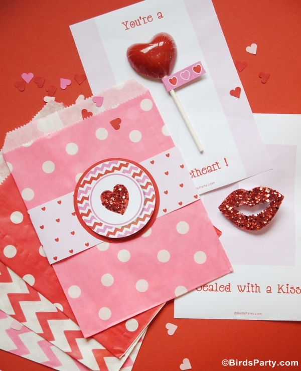 Four Valentine S Day Diy Cards With Free Printables Party Ideas