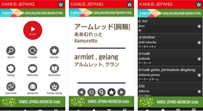 Aplikasi kamus bahasa jepang android Terbaik