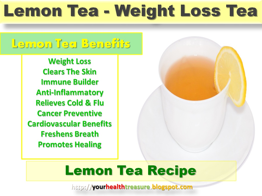 Lemon Tea Benefits - How to Make Lemon Tea? | Health Treasure