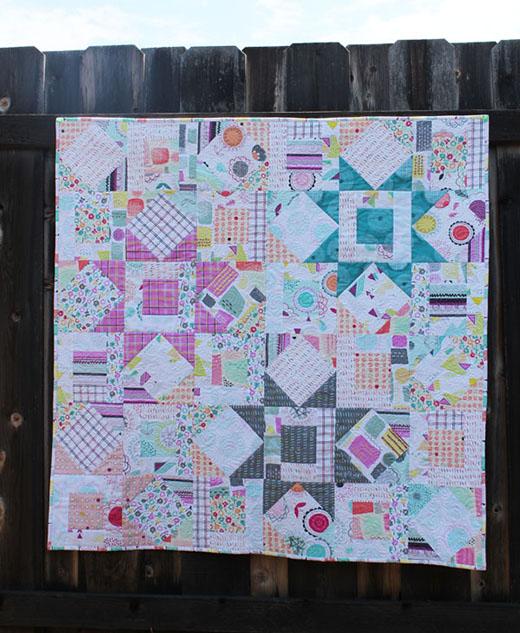 Stardust Quilt Free Pattern