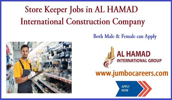 Dubai construction company jobs, Company job vacancies in Dubai,