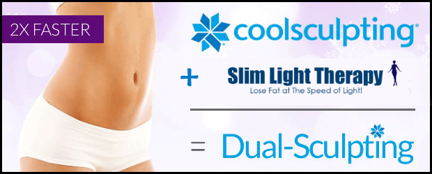 Dual Sculpting with Slim Light Therapy and CoolSculpting By Slim Silhouettes and Barbies Beauty Bits