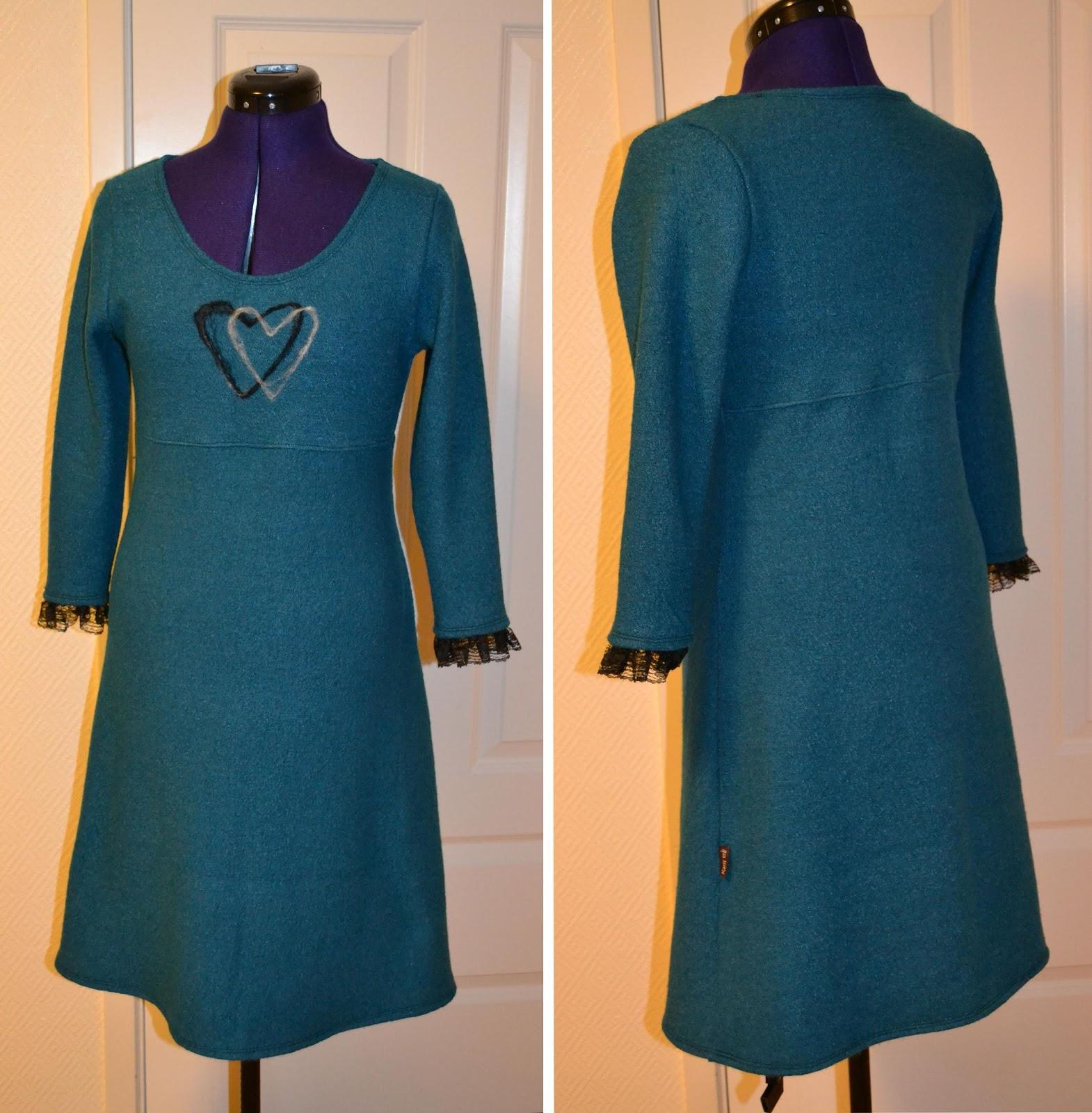 1db3ddd5b9fb Karis trå   Ull kjole