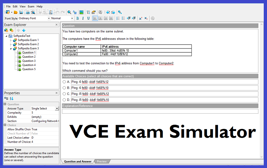 Image result for VCE Exam Simulator 2.6.1 Crack