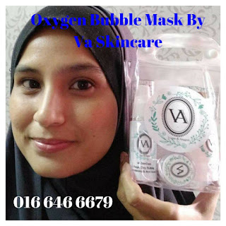 Oxygen Bubble Mask Detoksifikasi By Va Skincare