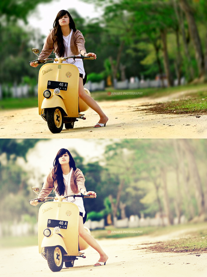 Vintage color action photoshop for prewedding & modeling youtube.