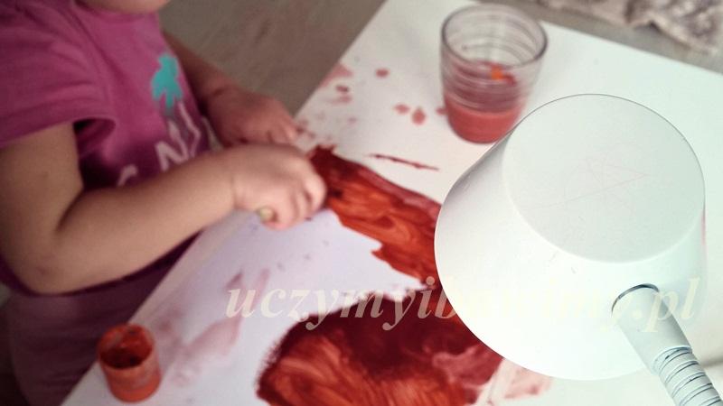 kiedy dać dziecku farby