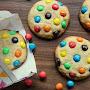 M&M-Cookies - wenn's bunt werden soll!