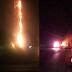 Prenden fuego a torre de comunicación y a otro trailer en Limón