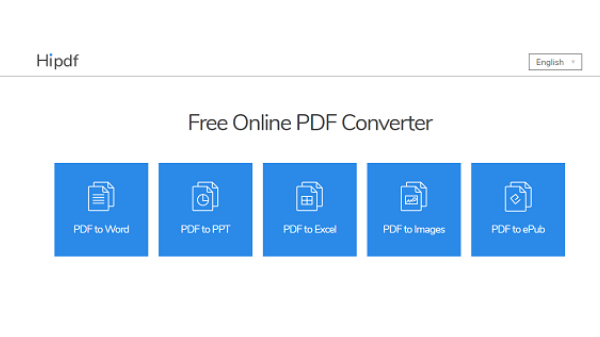 Convert PDF files to many formats for free and without software