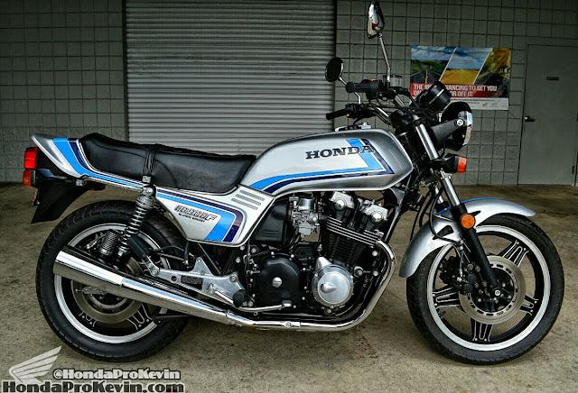Honda CB900F Tail Look